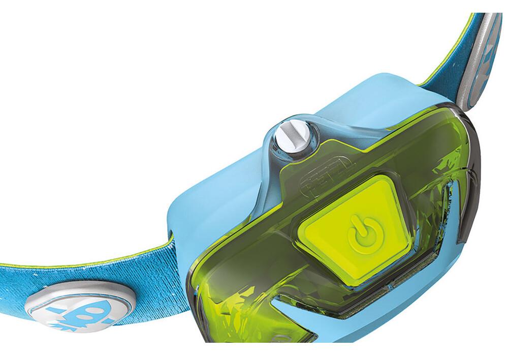 Petzl Tikkid Headlamp blue at Addnature.co.uk